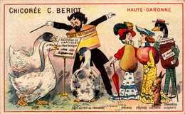 1 Chromo - Chicorée A La Belle Jardiniere - BERIOT LILLE - Haute Garonne. - Bill-564 - R/V - Thee & Koffie