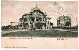 De Haan, Coq Sur Mer, Den Haan, Le Casino Et L'Hôtel Des Familles (pk32842) - De Haan