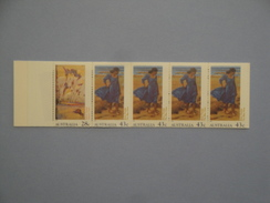 Australie 1990 Yvert Carnet C 1184 ** Tableaux  Scott Xx  Michel 1227/8  SG SB72 Painting - Carnets