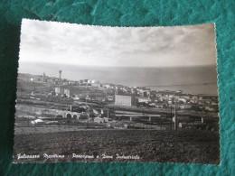 CARTOLINA  - FALCONARA MARITTIMA PANORAMA E ZONA INDUSTRIALE     B  1869 - Ancona