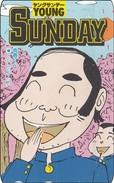 Japan  PhoneCard Film Anime Manga Young Sunday - Kino