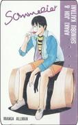 Japan  PhoneCard Film Anime Manga Sommelier Manga Allman - Kino