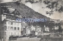 70877 ITALY LEVANTO LA SPEZIA VILLA SARNENGO & VIA TRENTO - TRIESTE POSTAL POSTCARD - Non Classificati