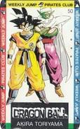 Japan  PhoneCard Film Anime MangaDragon Ball - Kino