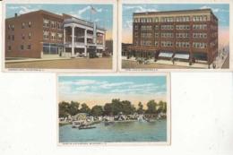 Etats Unis - S. D.  - Watertown - 3 Cartes   : Achat Immédiat - Watertown