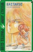 Japan  PhoneCard Film Anime Manga Weekly Jump Bastard - Kino