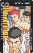Japan  PhoneCard Film Anime Manga Weekly Jump SLAMDUNK - Kino