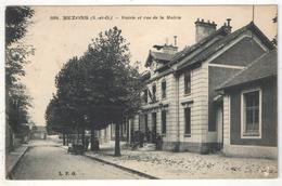 95 - BEZONS - Mairie Et Rue De La Mairie - LPG 1094 - Bezons