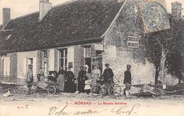 CPA 37 MORAND LA RECETTE BURALISTE 1905 - Autres Communes