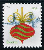 Etats-Unis / United States (Scott No.4579 - Ornements De Noël / Christmas Ornements) (o)  P4  ATM - Used Stamps