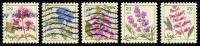 Etats-Unis / United States (Scott No.4505-09 - Fleur / Flower) (o) Série / Set - Verenigde Staten