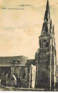 52 Ypern Zersschossene Kirche - Ieper