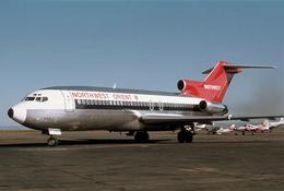 Aviation Postcard-703 - NWA NORTHWEST AIRLINES Boeing 727 - 1946-....: Moderne