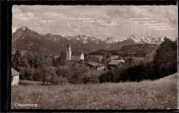 Ofterschwang - S/w Mit Blick Auf Allgäuer Hochgebirgskette - Allemagne