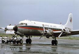 Aviation Postcard-704 - PAL PHILIPPINE AIR LINES Douglas DC-4 - 1946-....: Moderne