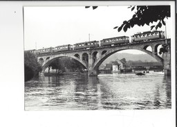 16571 - Bremgarten Pont Sur La Reuss Train Edition BVA (format 1X 15) - AG Argovie