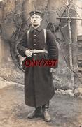 Carte Postale Photo Militaire Allemand GIESSEN (Allemagne-Hesse) Soldat En Tenue Avril 1915 Guerre 14/18 - Giessen