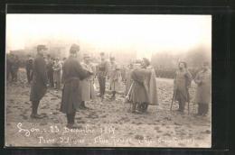 CPA Lyon, Pris D´armes, Croix Nousse 1919 - Lyon