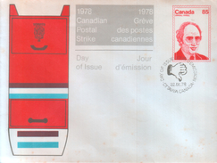 Postal Services - 1978 Canadian Postal Strike - Post