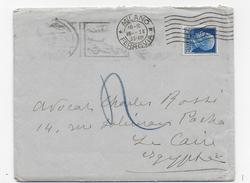STORIA POSTALE REGNO - BUSTA  CON LETTERA DA MILANO AL CAIRO (EGITTO) 15.01.1935 - Marcophilie