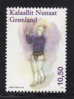 Greenland MNH 2016 10.50k Woman In Purple Playing Drum - Groenland