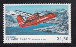 Greenland MNH 2016 24.50k DHC8 (Dash 8) - Civil Aviation - Groenland