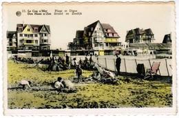 De Haan, Coq Sur Mer, Den Haan, Strand En Zeedijk (pk32858) - De Haan