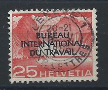 Suisse T. Service N° 320 Obl (FU) 1950 (bis) - Service