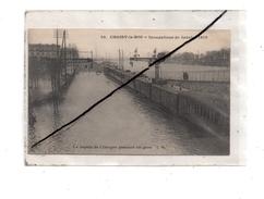 Choisy-le-Roi , Inondations1910 , Le Rapide De Limoges En Gare - Choisy Le Roi
