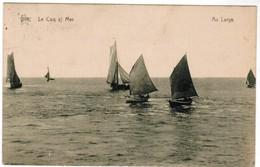 De Haan, Coq Sur Mer, Den Haan, Au Large (pk32861) - De Haan