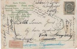 Carte  Inconnu   Le Facteur/rebut/ - 1893-1907 Wapenschild