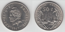 **** POLYNESIE FRANCAISE- FRENCH POLYNESIA - 50 FRANCS 1967 **** EN ACHAT IMMEDIAT !!! - Polynésie Française