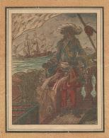 Gravure Intéressante Du Vice Amiral De Tourville - Vieux Papiers