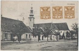 CPA SLOVAQUIE PEZINOK Church Timbres Stamps - Slovakia
