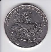 MONEDA DE CUBA DE 1 PESO DEL AÑO 2007 DE UN GATO MONTES (CAT)  (COIN) SIN CIRCULAR-UNCIRCULATED - Cuba