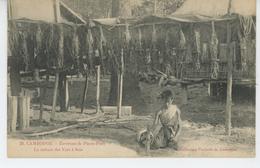 ASIE - CAMBODGE - Environs De PNOM PENH - La Culture Du Ver à Soie - Cambodge