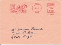 EMA - 1992 -  ALEX  26    -  SON PELERINAGE DE SAINT JOSEPH     - ILLUSTREE - SR 11213 - Postmark Collection (Covers)
