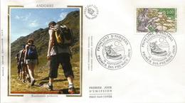 ANDORRA. Les Randonnées Pédestres En Andorre.  FDC - FDC