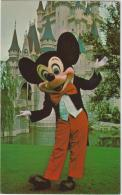 AK - Mickey Mouse Vor Dem Cinderella Castle - 50iger - Comicfiguren