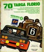 X 70 TARGA FLORIO 1986 RALLYE INT.LE  TABELLA TEMPI E DISTANZE NON AGGIORNATA A DISPOSIZIONI FISA 12 PAG.RRR - Automobilismo - F1