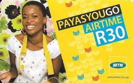 Prepaid: MTN Payasyougo Airtime - Zuid-Afrika