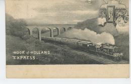 """CHEMIN DE FER - TRAINS EXPRESS - """"HOOK OF HOLLAND """" - Eisenbahnen"""