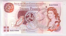 United Kingdom - Isle Of Man 20 Pounds (2002) UNC - [ 4] Isle Of Man / Channel Island