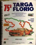 X 75 TARGA FLORIO 1991 RALLYE INT.LE CARNET DE BORD ROAD BOOK 1 TAPPA - Automobilismo - F1