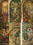 10 CART. ARTISTICHE : INTERNI - Cartoline