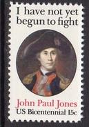 USA 1979 Bicentennial, John Paul Jones, P.11, MNH (SG 1770b) - Vereinigte Staaten