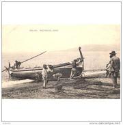 MLGTP1517CPA-LFTMC238TPRPES.Tajeta Postal De Malaga.SACANDO EL COPO.Pescadores Suben La Barca A La Playa - Pesca