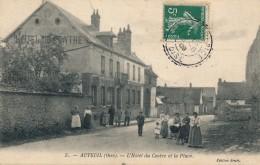 G105 - 60 - AUTEUIL - Oise - L'Hötel Du Centre Et La Place - France