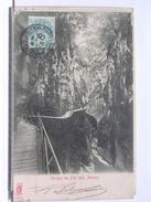 74 - LES GORGES DU FIER PRES D'ANNECY - DOS SIMPLE - 1905 - Annecy