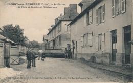 G105 - 76 - CROISY-SUR-ANDELLE - Seine Maritime - Le Bureau De Poste Et L'ancienne Gendarmerie - Other Municipalities